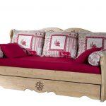 Canapé lit gigogne montagne