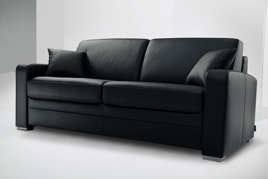canap convertible 3 places cuir maison et mobilier d 39 int rieur. Black Bedroom Furniture Sets. Home Design Ideas