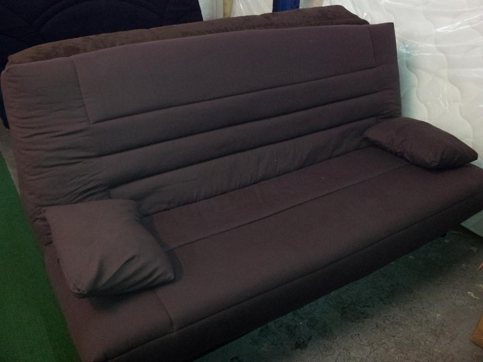 canap clic clac carrefour maison et mobilier d 39 int rieur. Black Bedroom Furniture Sets. Home Design Ideas