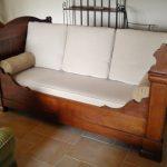 Canapé lit ancien