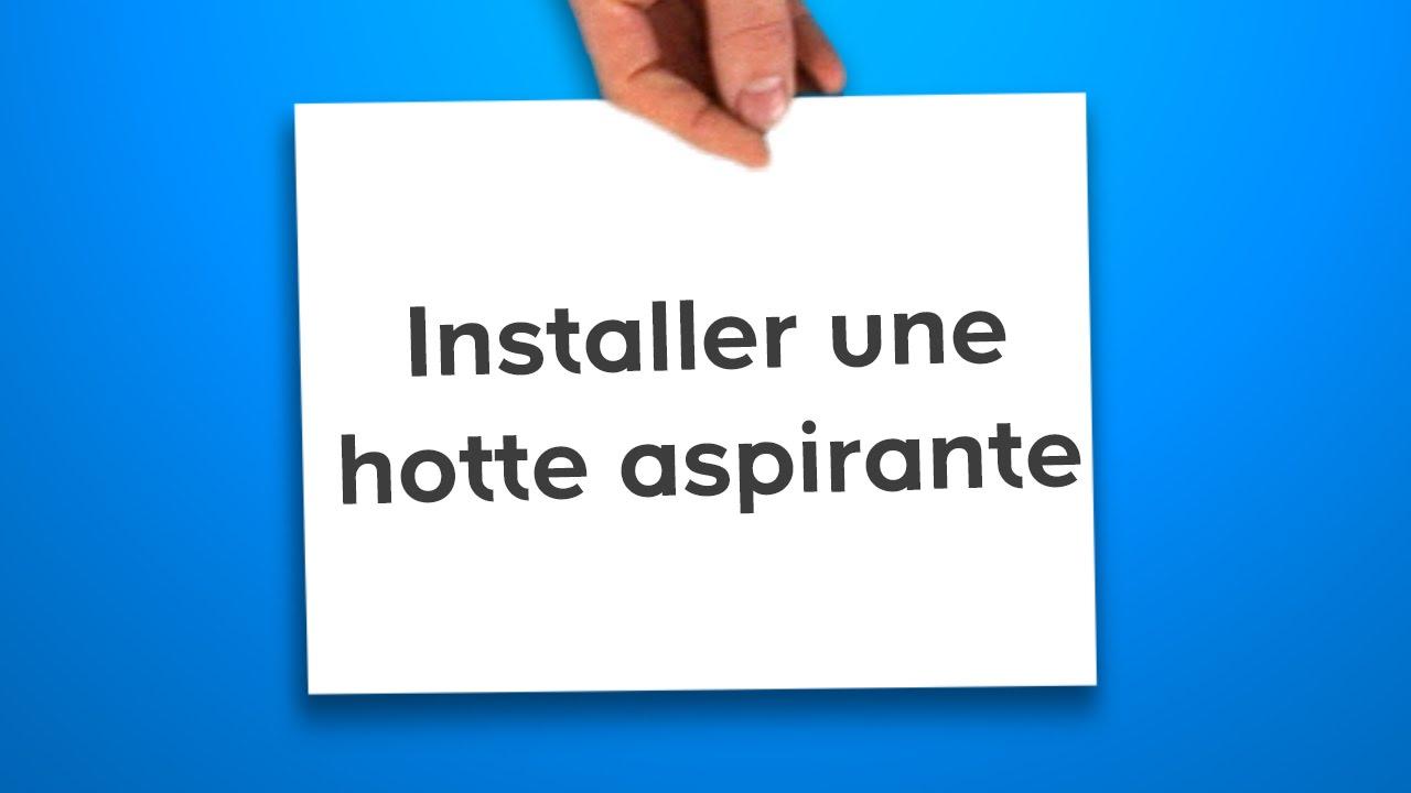 Hotte aspirante electrique maison et mobilier d 39 int rieur - Installer une hotte aspirante ...