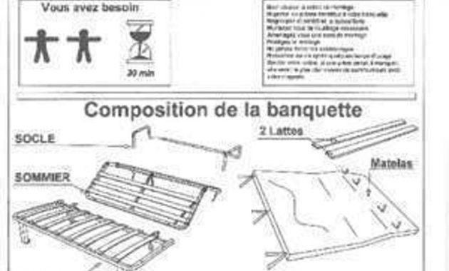 Banquette bz notice de montage maison et mobilier d - Montage banquette bz ...