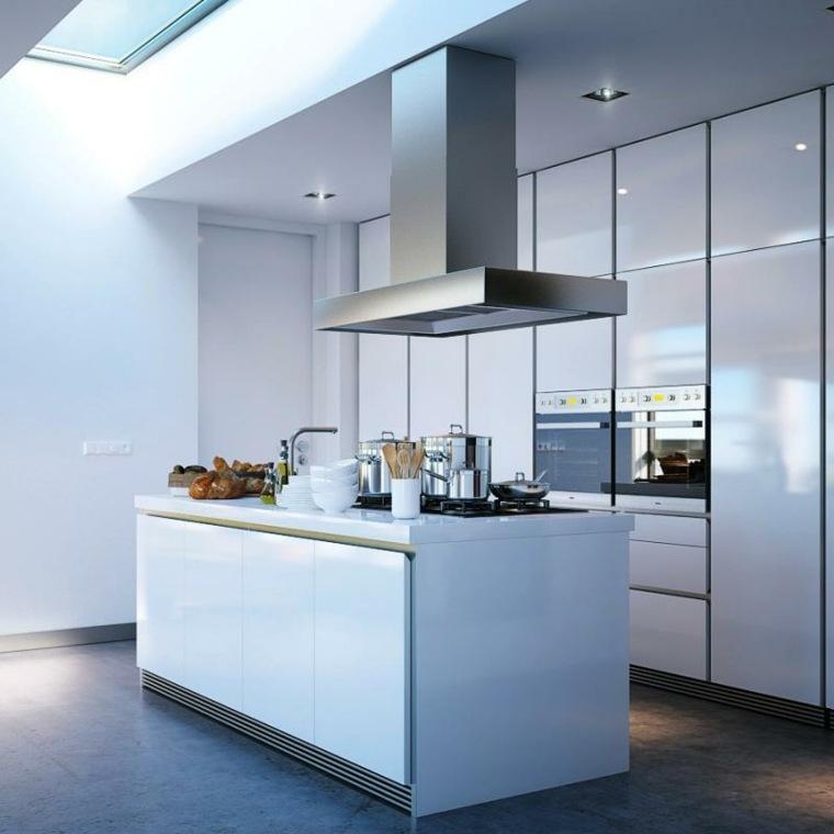 hotte cuisine pour ilot central maison et mobilier d 39 int rieur. Black Bedroom Furniture Sets. Home Design Ideas