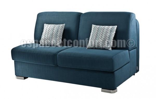 Canapé lit 140 sans accoudoir