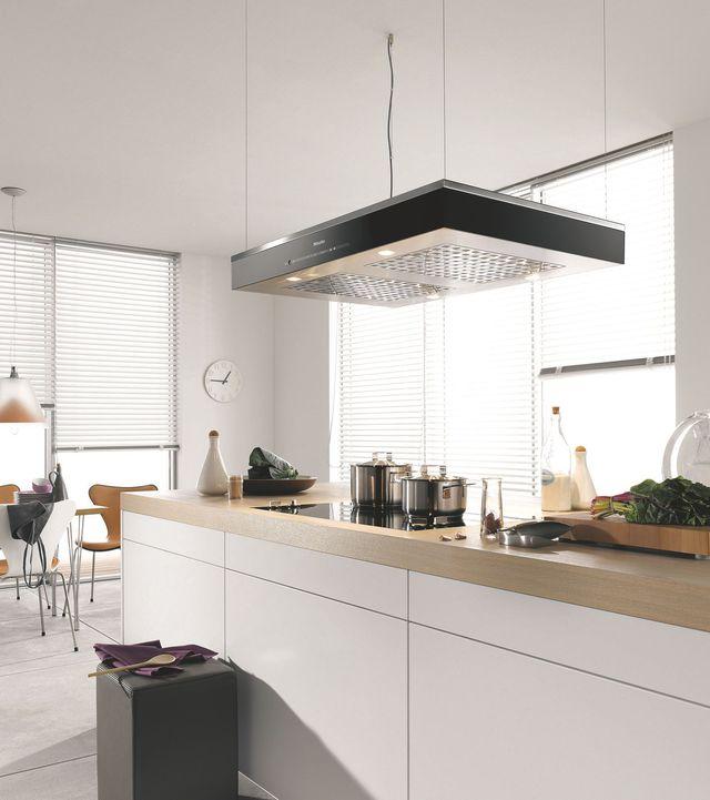 Hotte aspirante suspendue maison et mobilier d 39 int rieur - Une hotte de cuisine ...