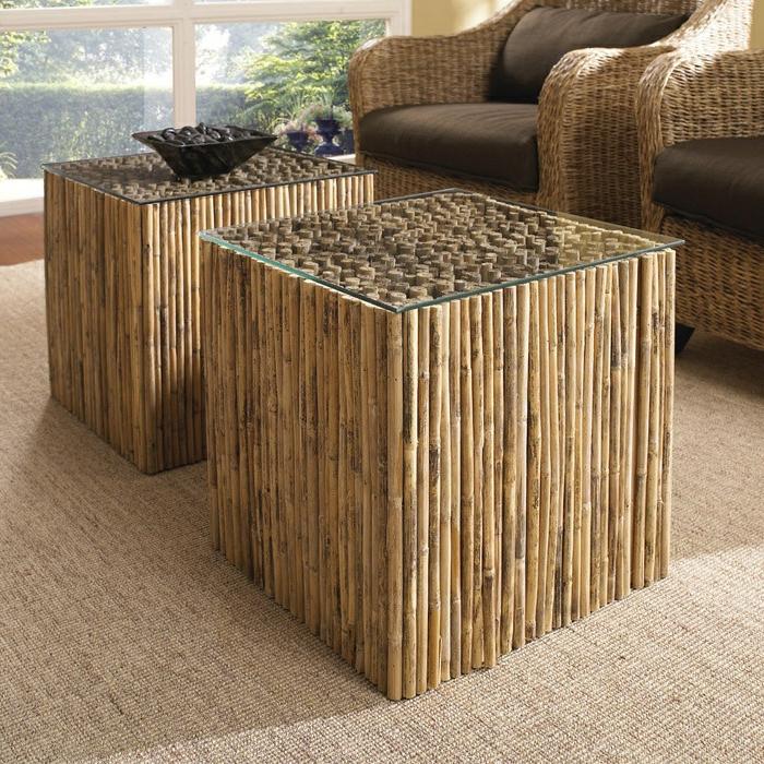 Meuble en bambou design