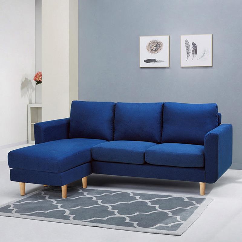 Canapé d'angle rouge ikea