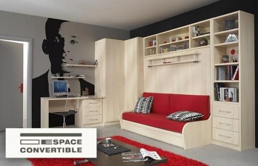 Canape lit meuble