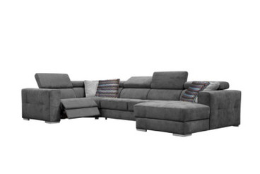 Canapé d'angle gris anthracite but