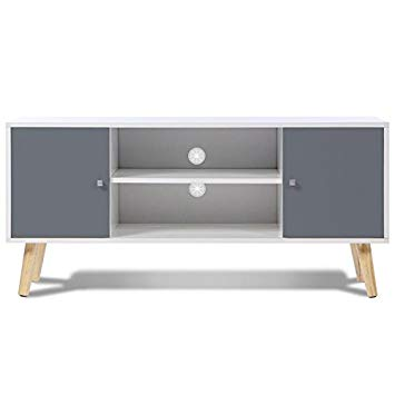 Grand meuble tv bois