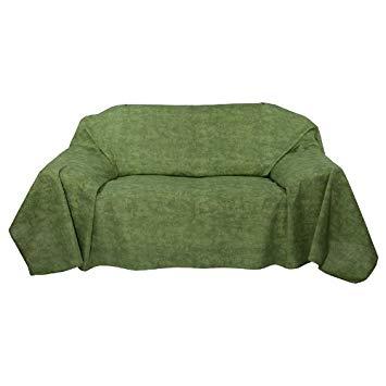 Jeté de canapé vert amazon
