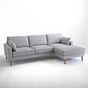 Canapé fixe d'angle