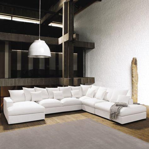Canapé loft maison du monde