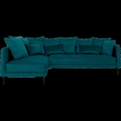 Petit canapé d'angle fixe