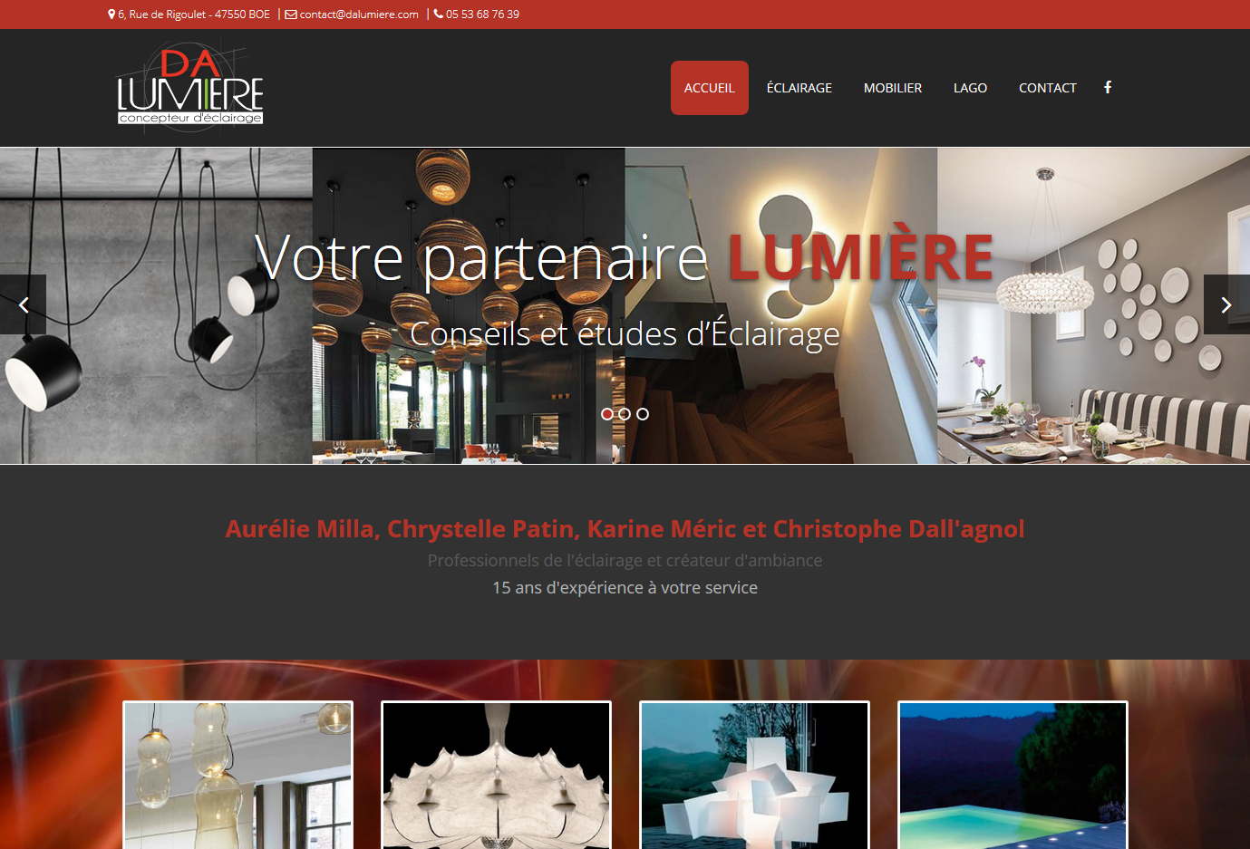 Site design meuble