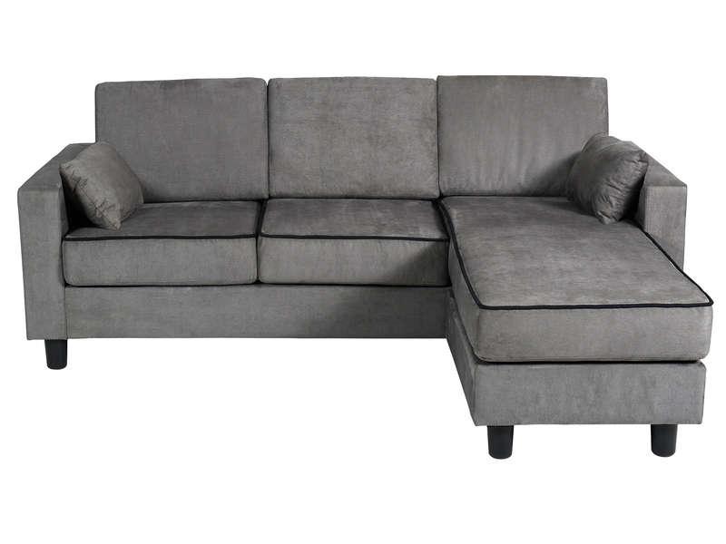 Canapé conforama gris