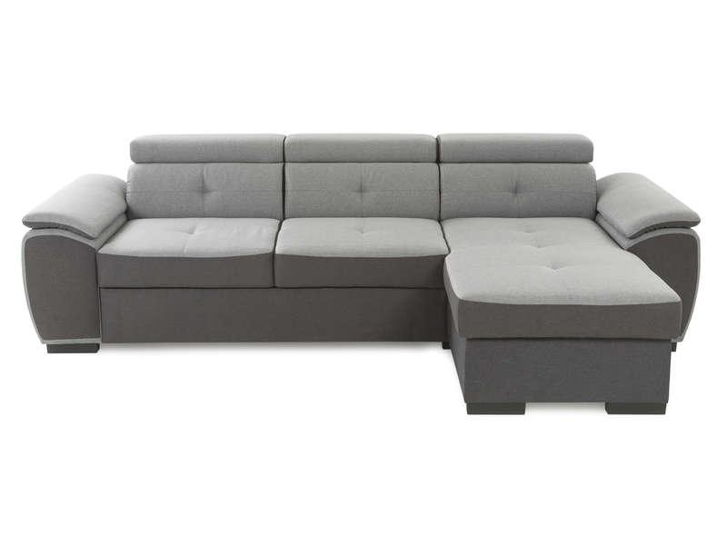 Canapé d'angle convertible et réversible 4 places conforama