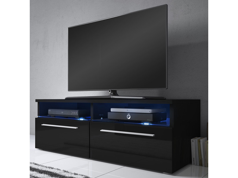 Meuble tv noir conforama