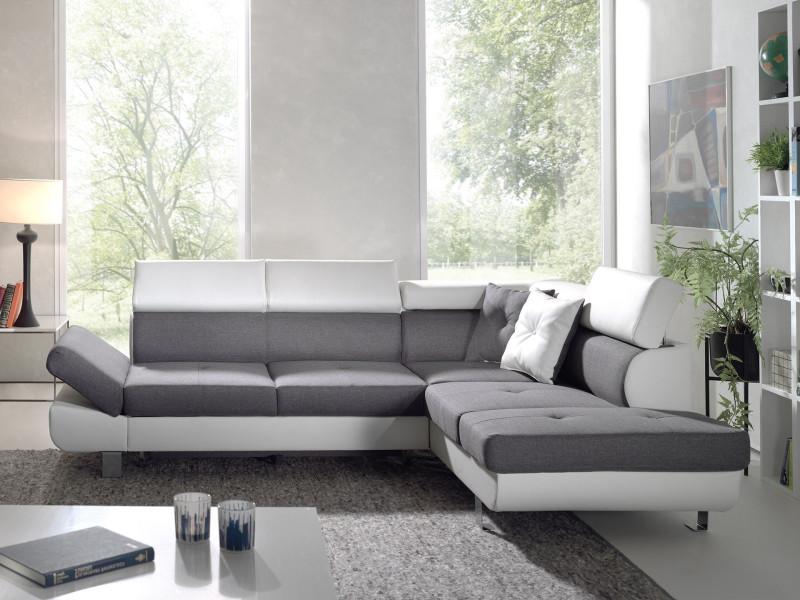 Canapé d'angle convertible longueur 190 cm