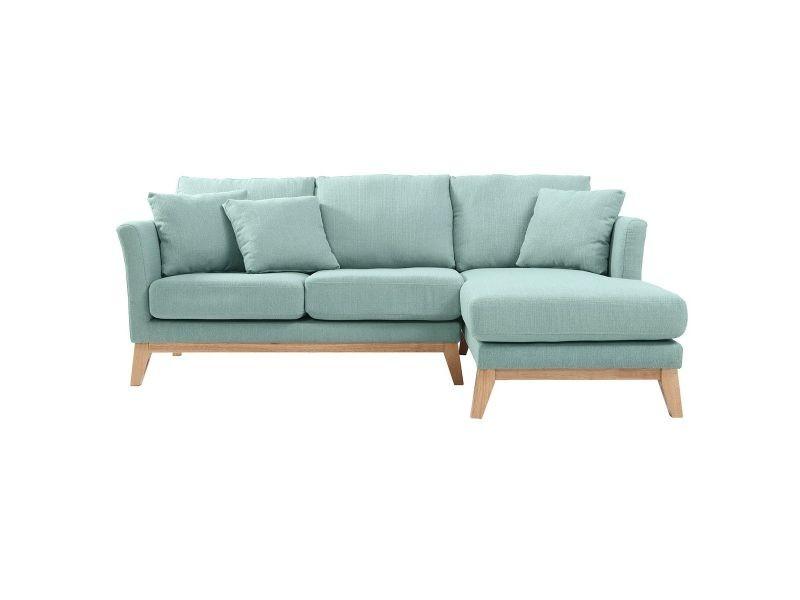 Canapé d angle vert