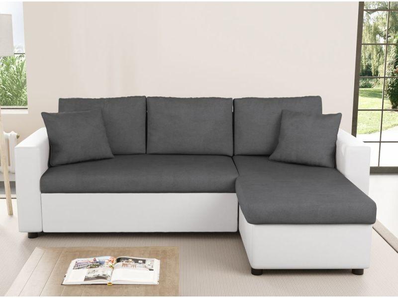 Canapé d'angle convertible rubix conforama