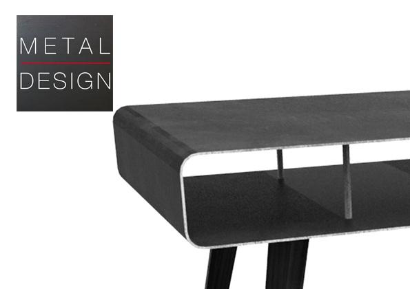 Meuble métallique design
