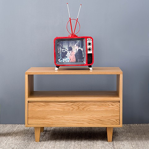 Petit meuble tv bois