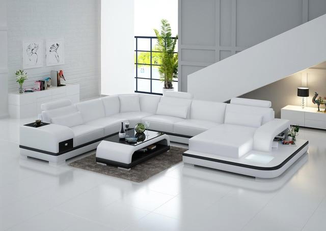 Canapé d'angle led