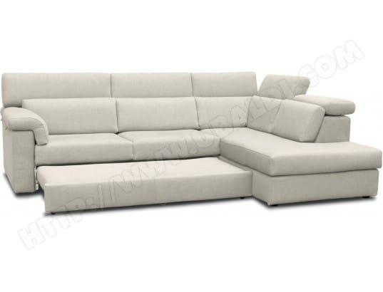 Canape droit beige pas cher