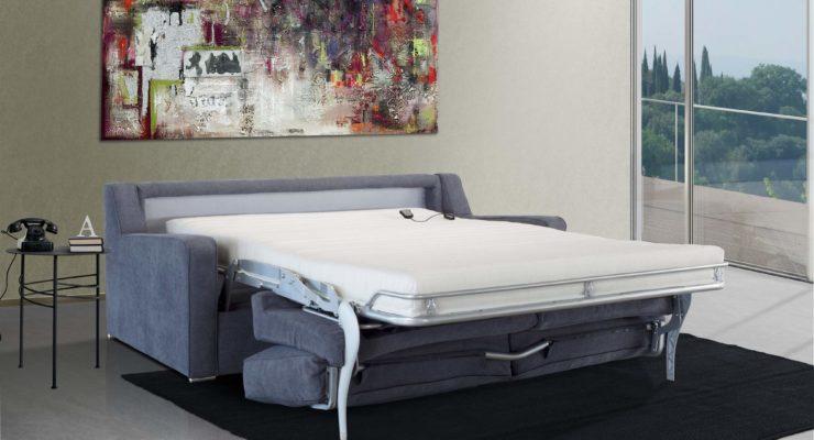 Canapé lit éléctrique