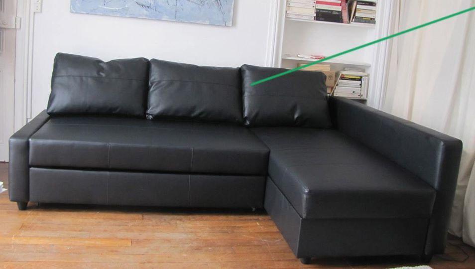 Canapé d'angle ikea friheten