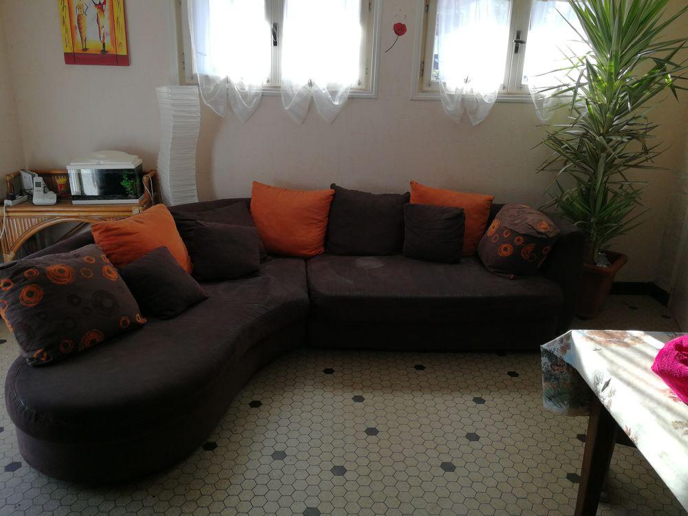 Canapé d'angle rond