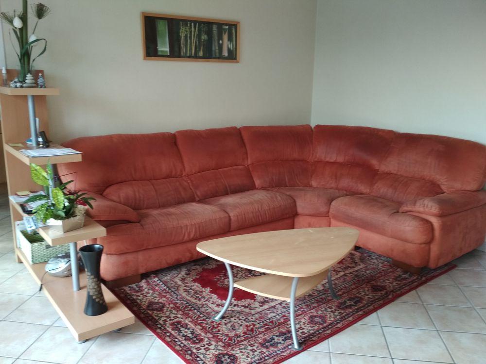 Canapé d'angle alcantara