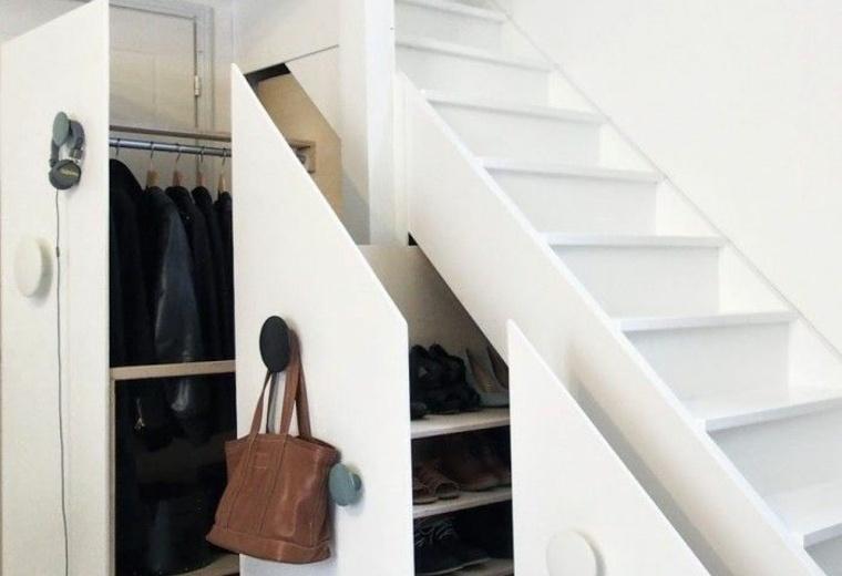Meuble sous escalier design