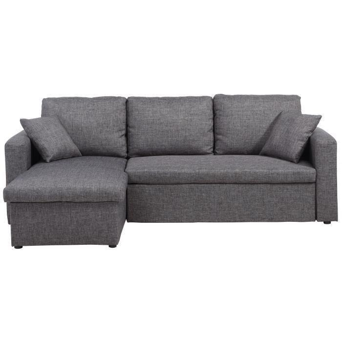Canapé d'angle 3 places pas cher