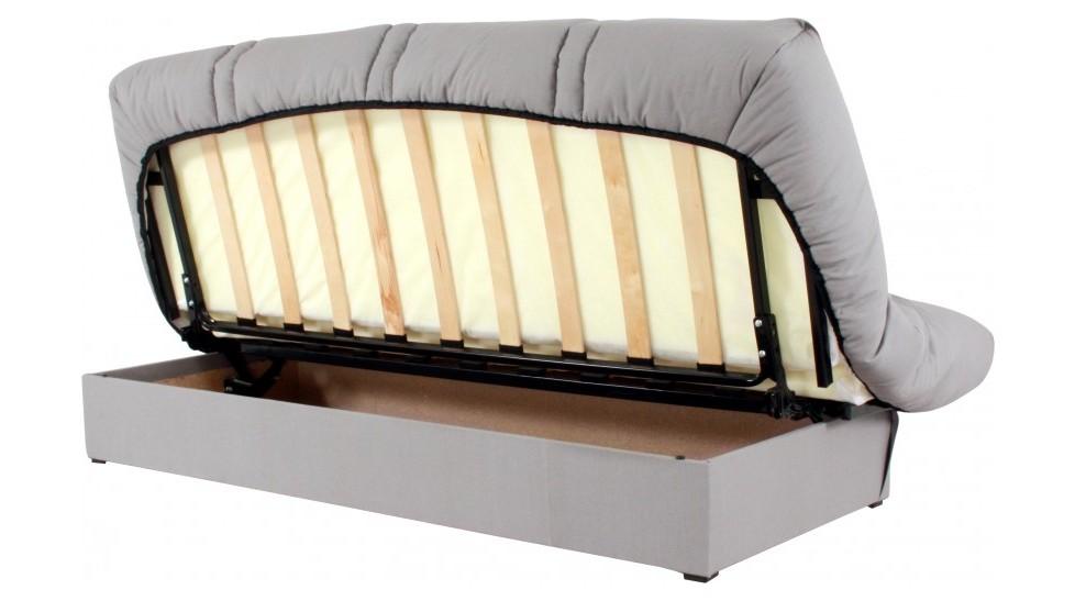 Canapé clic clac avec rangement