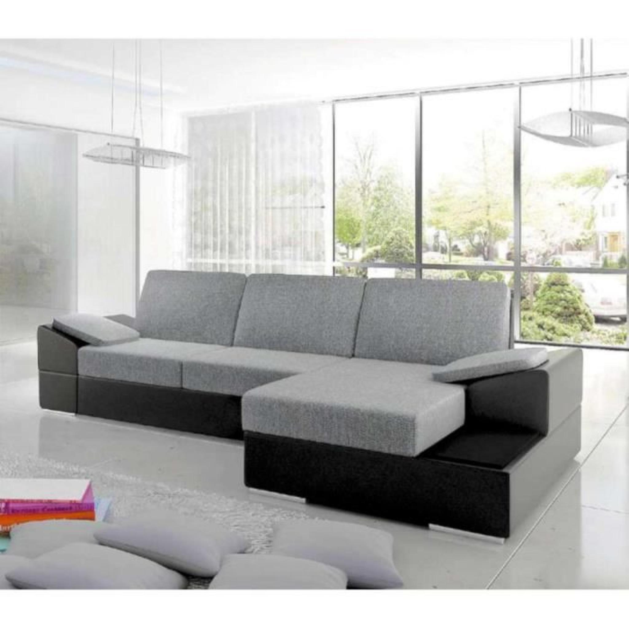 Canapé d'angle daim