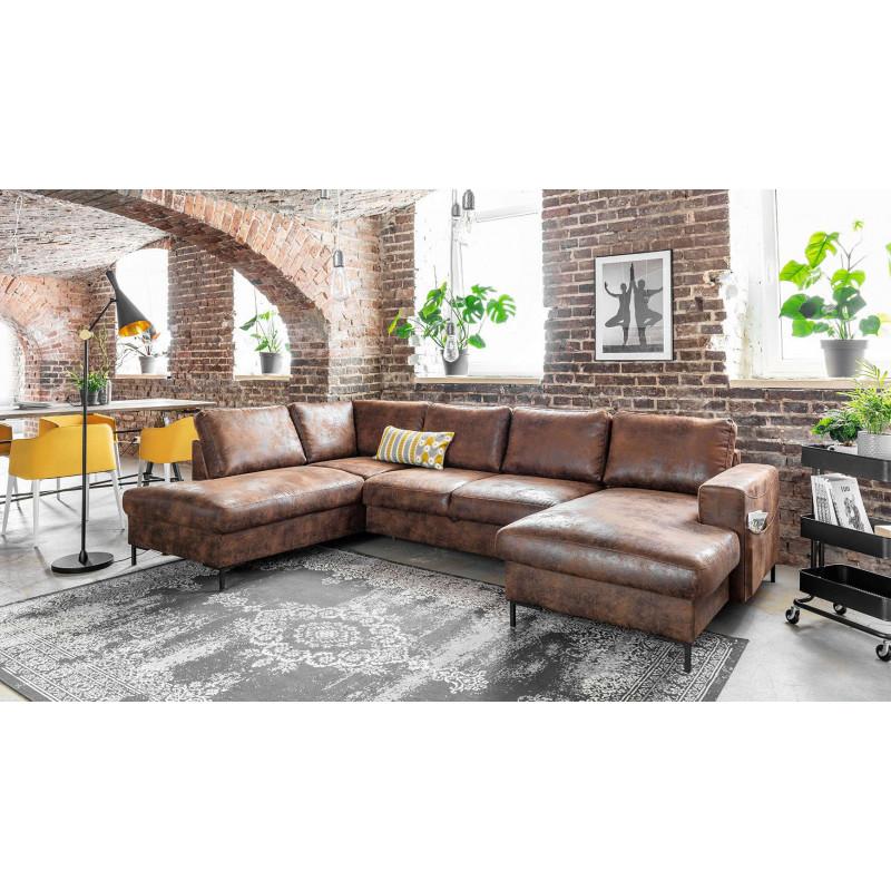 Canapé d angle industriel