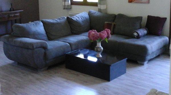 Canapé en alcantara