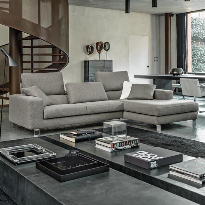 Canapé d'angle cuir poltronesofa