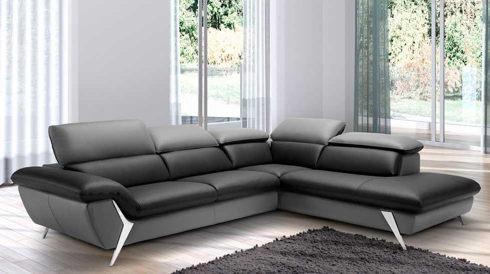 Canapé d'angle droit ou gauche