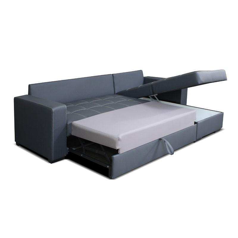 Canapé lit avec méridienne