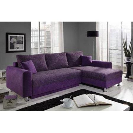 Canapé violet pas cher