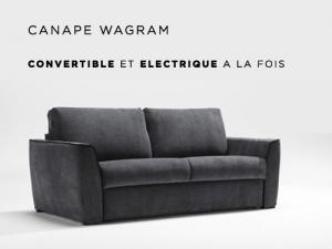 Canapé convertible electrique