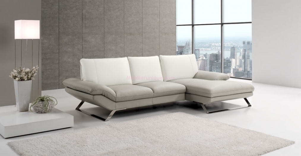 Canapé en cuir d angle pas cher