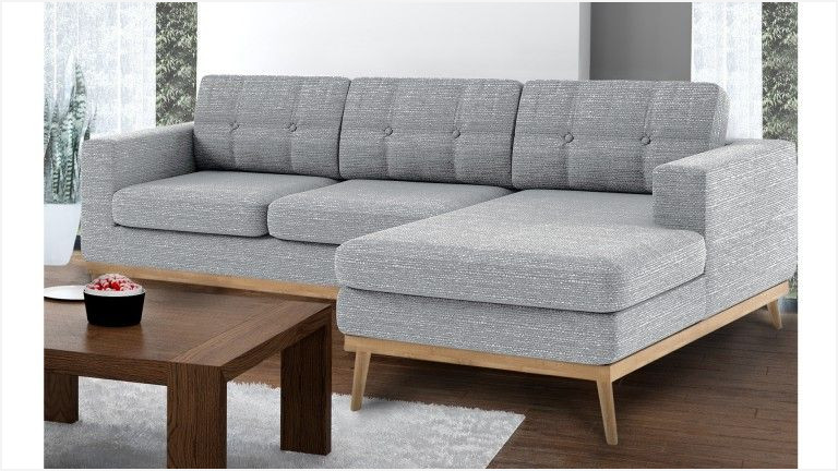 Canapé d angle style scandinave