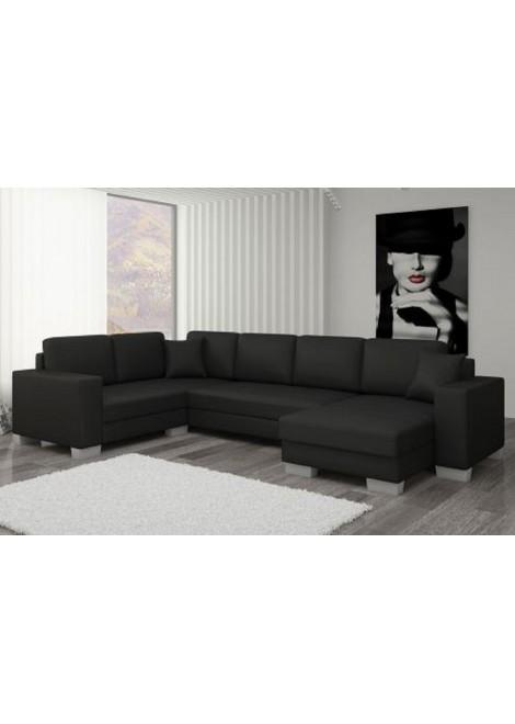 Canapé d angle convertible noir