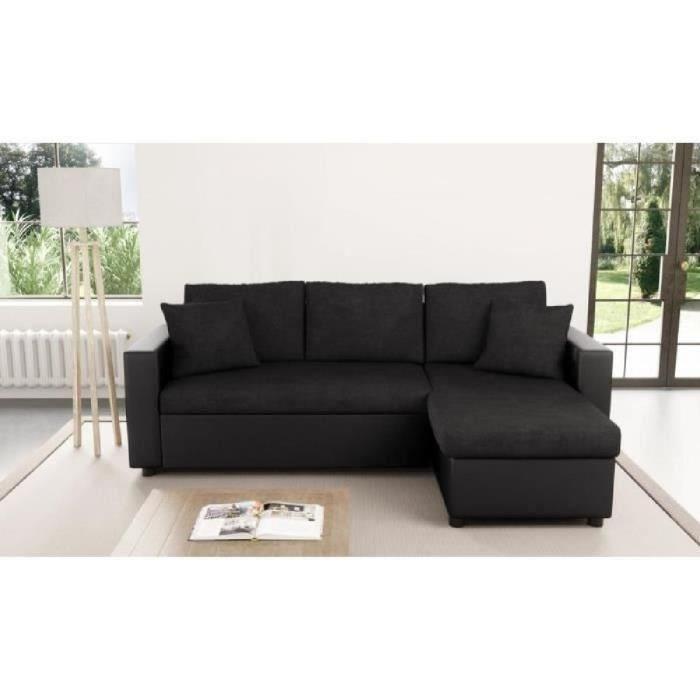 Petit canapé angle lit