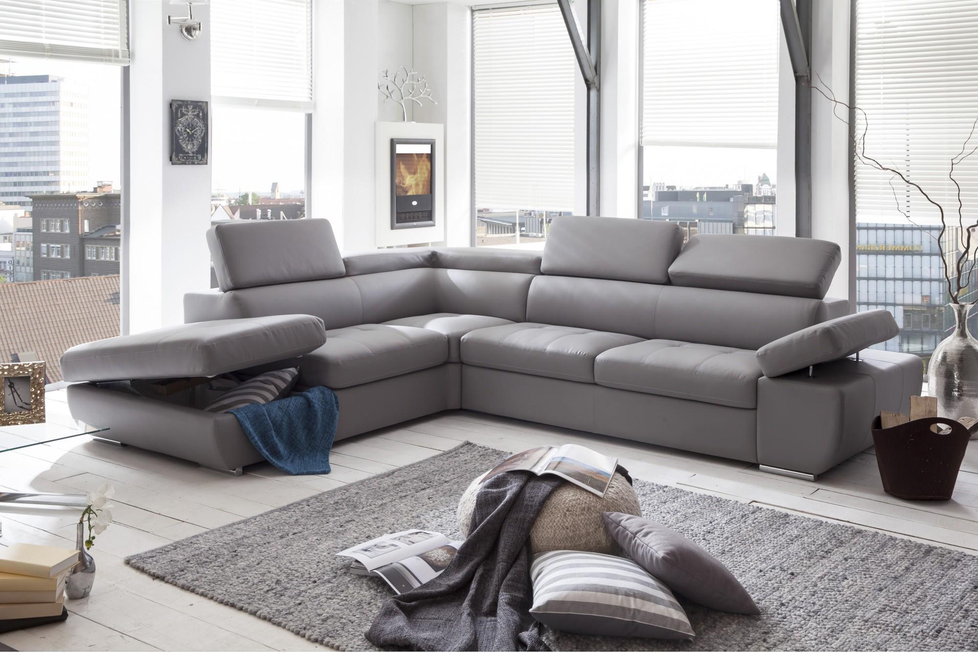 Canapé panoramique en stock