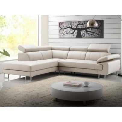 Canapé d'angle cuir colisee